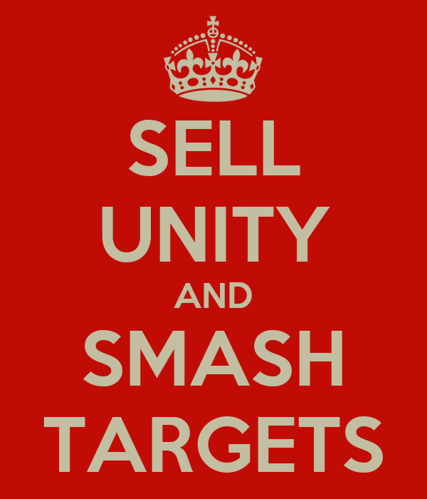 SELL UNITY AND SMASH TARGETS