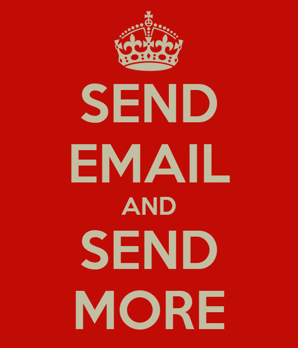 SEND EMAIL AND SEND MORE