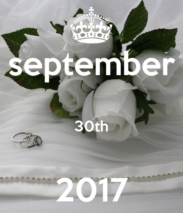 september  30th  2017