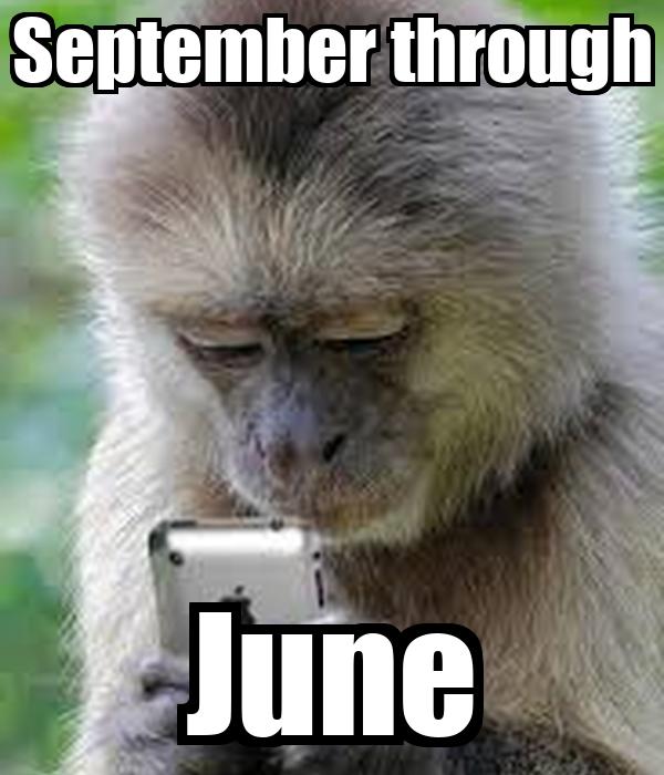 September through June