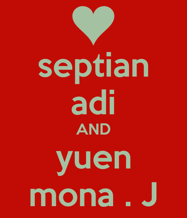 septian adi AND yuen mona . J