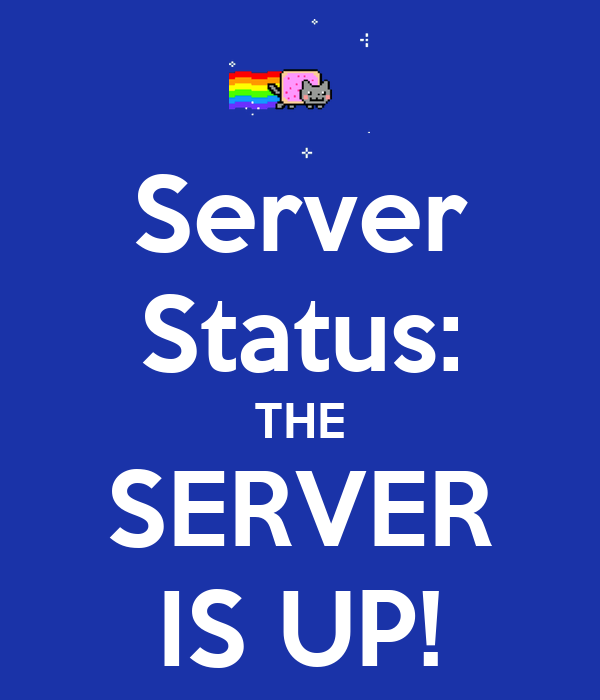 Server Status Server is currently up and public  :: palzlirucomp ml