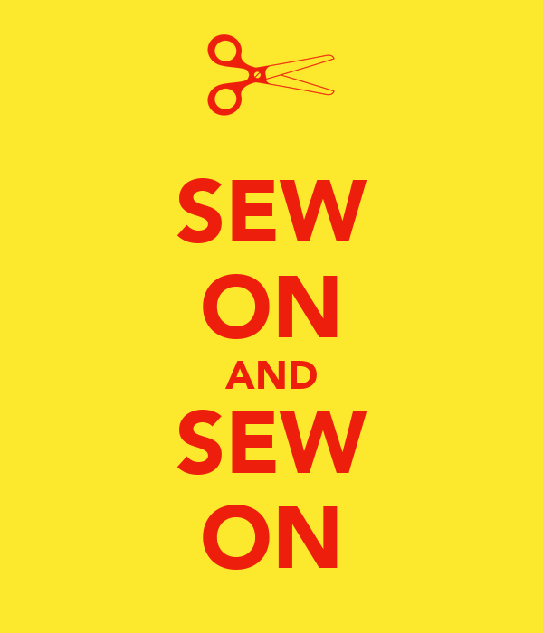SEW ON AND SEW ON