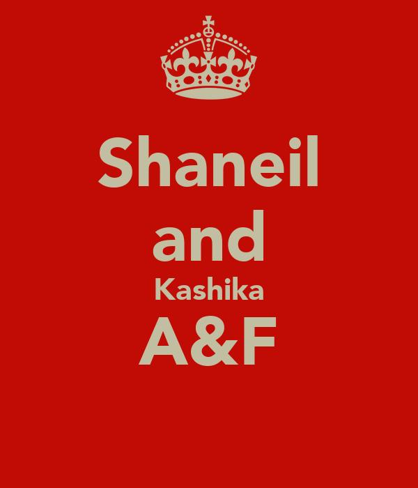 Shaneil and Kashika A&F