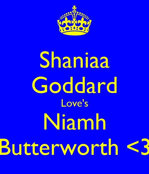 Shaniaa Goddard Love's Niamh Butterworth <3
