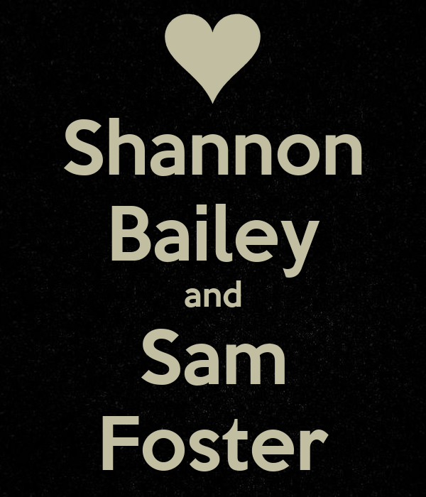 Shannon Bailey and Sam Foster