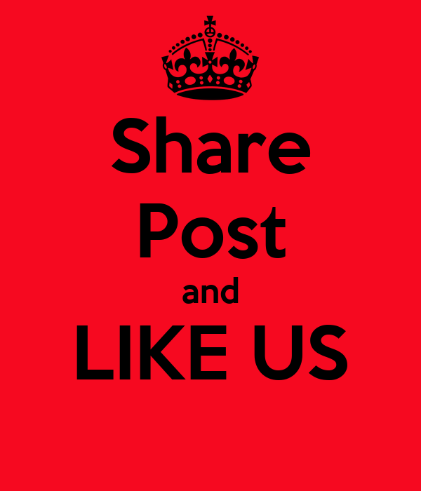 Share Post and LIKE US