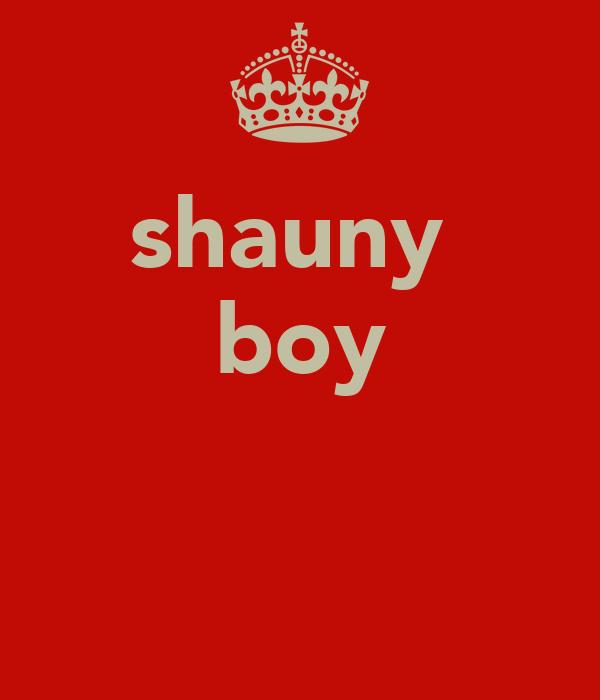 shauny  boy