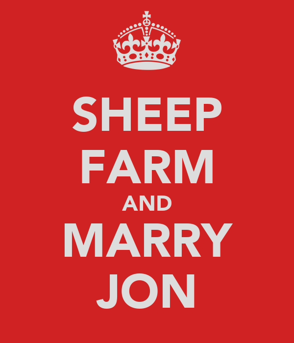 SHEEP FARM AND MARRY JON