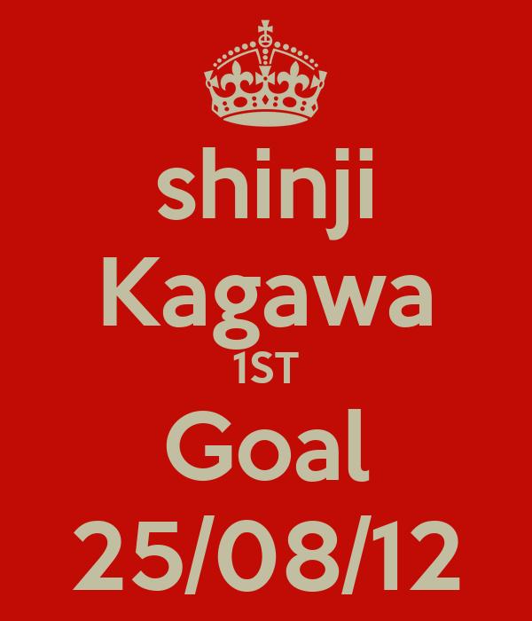 shinji Kagawa 1ST Goal 25/08/12