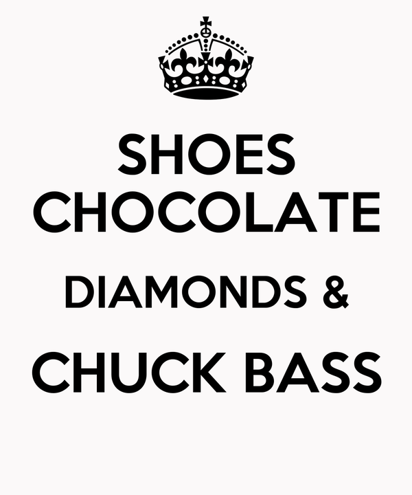 SHOES CHOCOLATE DIAMONDS & CHUCK BASS
