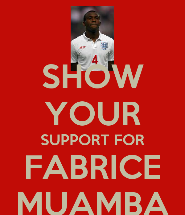 SHOW YOUR SUPPORT FOR FABRICE MUAMBA