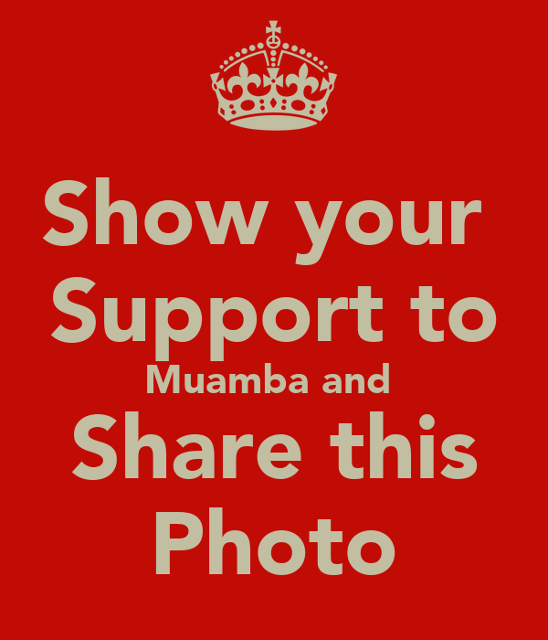 Show your  Support to Muamba and  Share this Photo