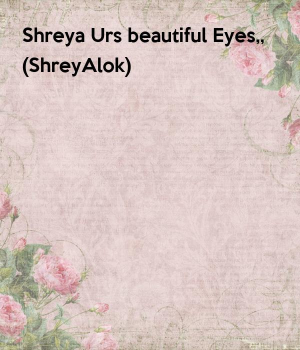 Shreya Urs beautiful Eyes,,