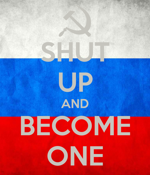 SHUT UP AND BECOME ONE