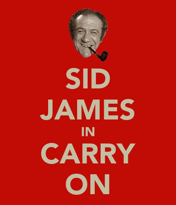 SID JAMES IN CARRY ON