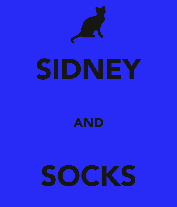 SIDNEY  AND  SOCKS