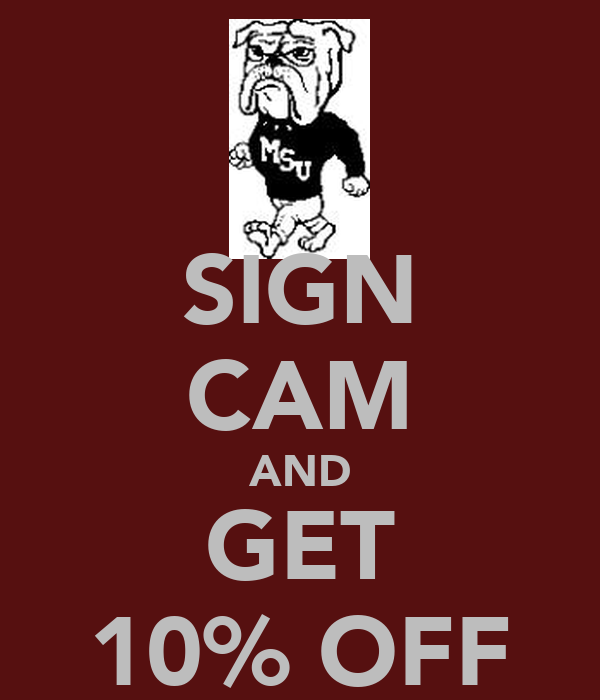 SIGN CAM AND GET 10% OFF