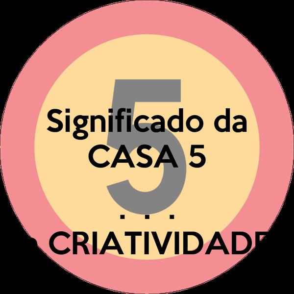 Significado da CASA 5  .  .  . a CRIATIVIDADE