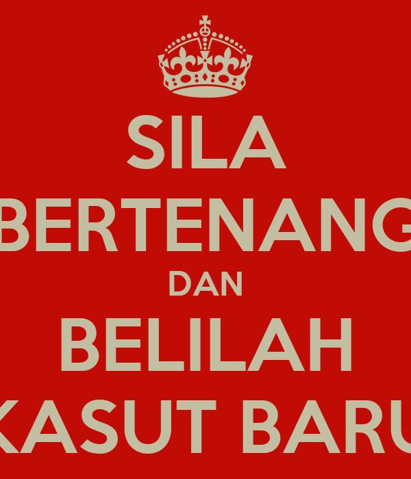 SILA BERTENANG DAN BELILAH KASUT BARU