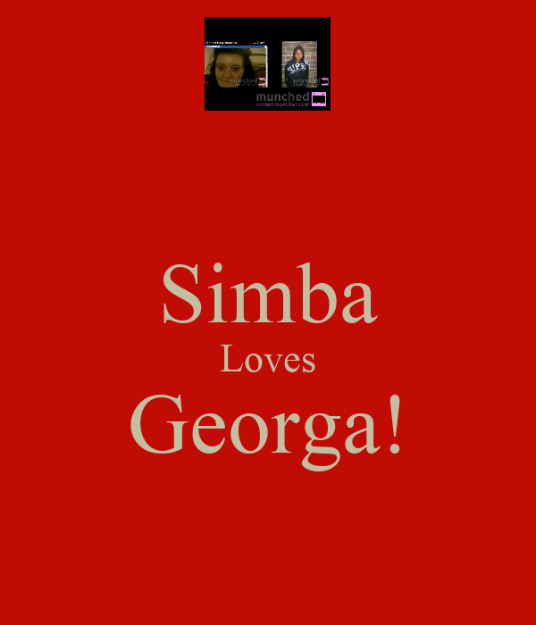 Simba Loves Georga!