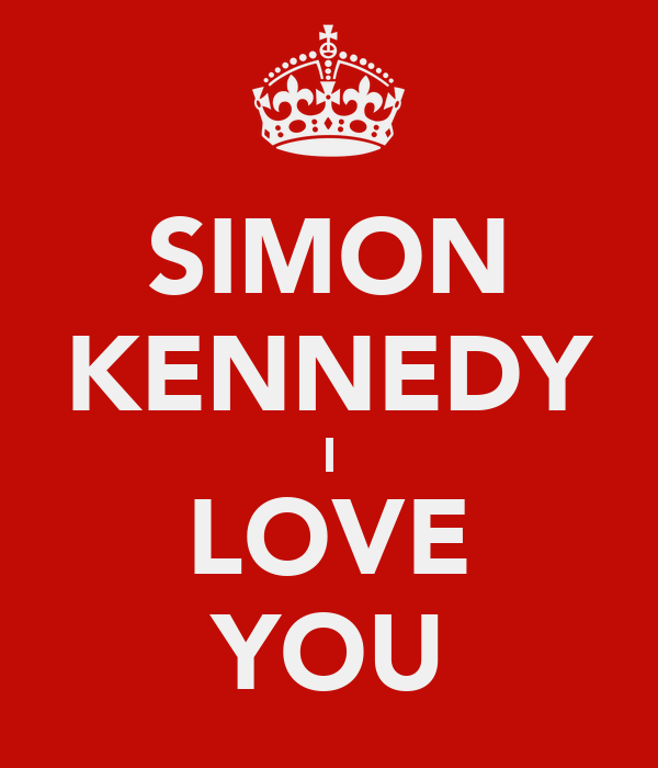 SIMON KENNEDY I LOVE YOU