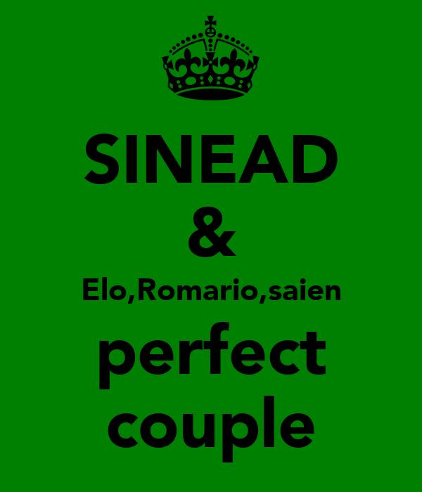 SINEAD & Elo,Romario,saien perfect couple