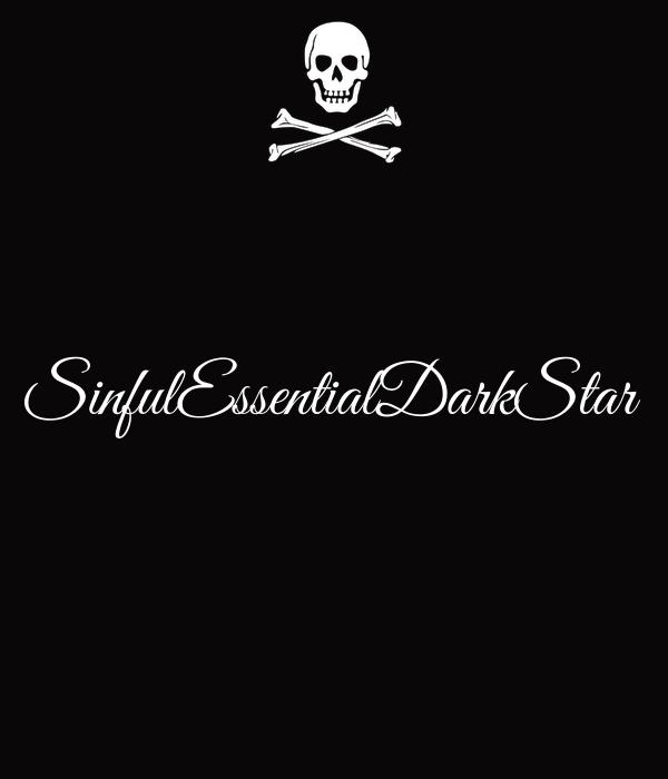 SinfulEssentialDarkStar