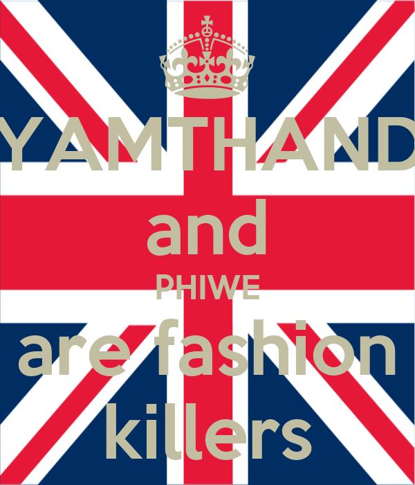 SIYAMTHANDA and PHIWE are fashion killers