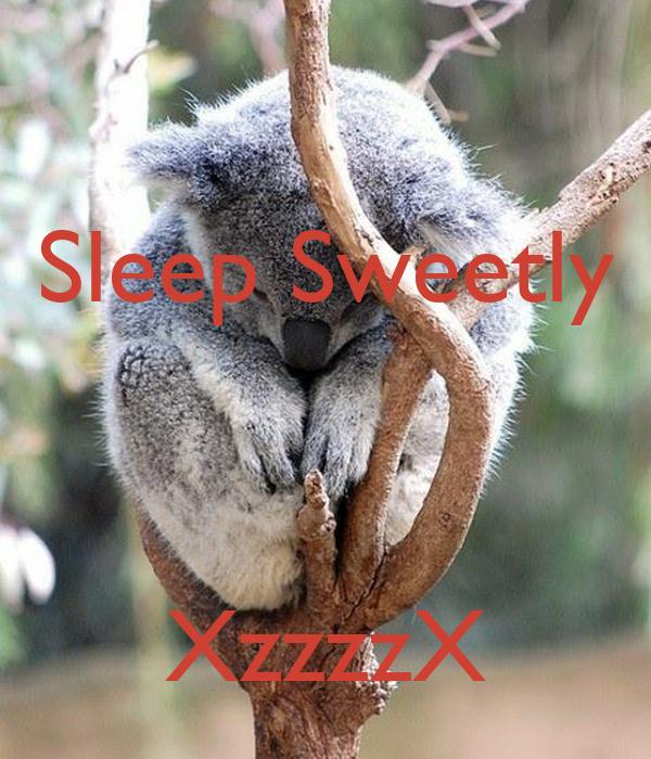 Sleep Sweetly    XzzzzX