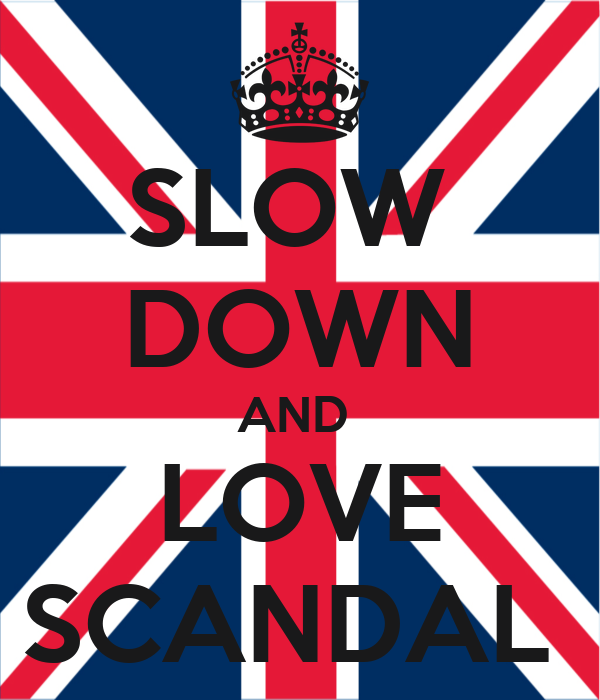 SLOW  DOWN AND  LOVE SCANDAL