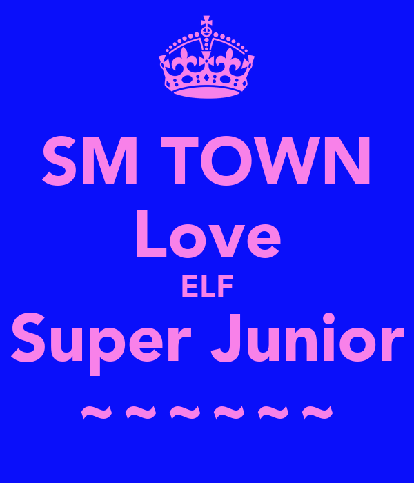 SM TOWN Love ELF Super Junior ~~~~~~