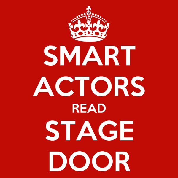 SMART ACTORS READ STAGE DOOR