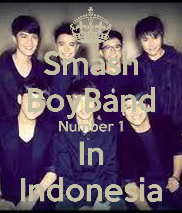 Smash BoyBand Number 1 In Indonesia