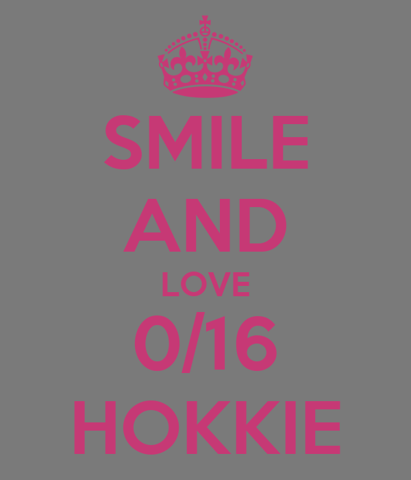 SMILE AND LOVE 0/16 HOKKIE
