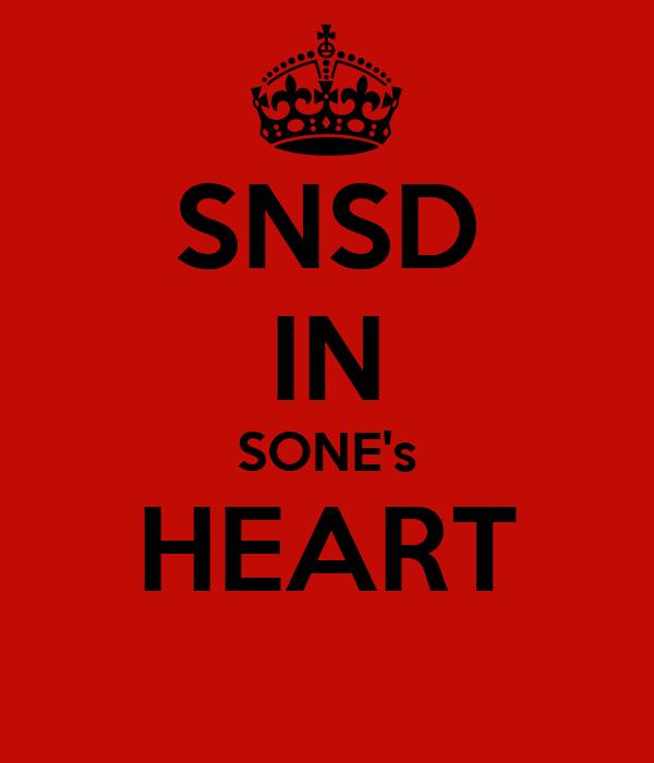 SNSD IN SONE's HEART