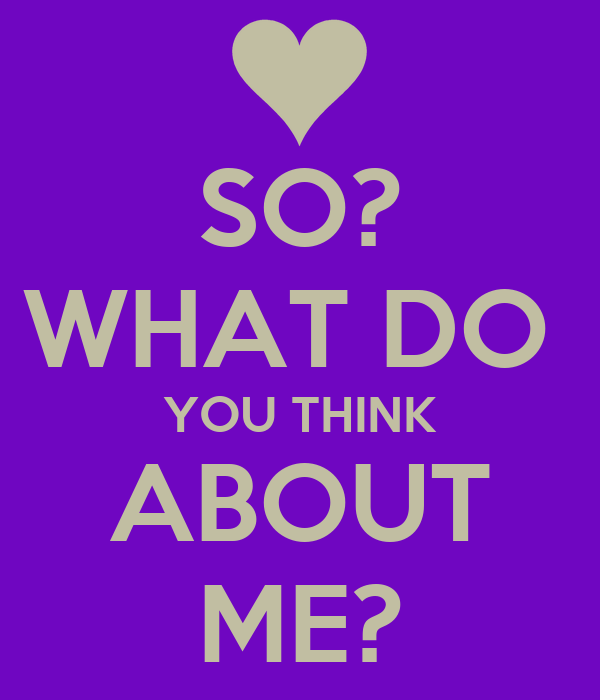 what do you think about how To some extent, it's a chicken-and-egg question: are you unable to think about  things you don't have words for, or do you lack words for them because you don't .