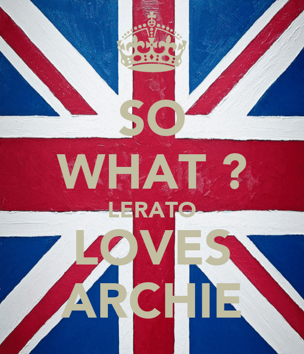 SO WHAT ? LERATO LOVES ARCHIE