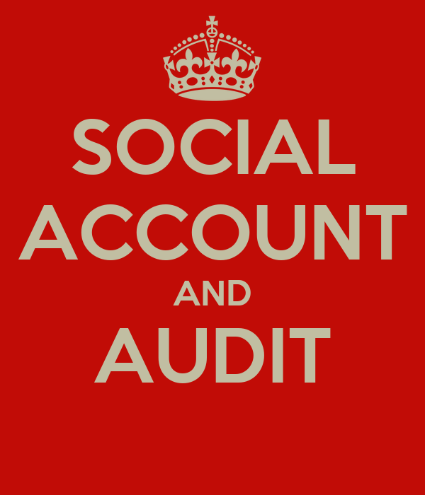 SOCIAL ACCOUNT AND AUDIT