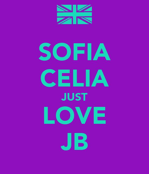 SOFIA CELIA JUST LOVE JB