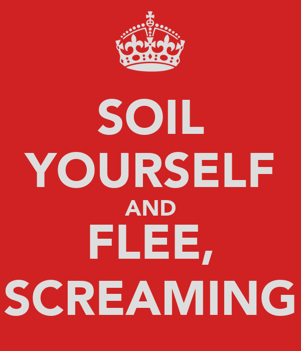 SOIL YOURSELF AND FLEE, SCREAMING