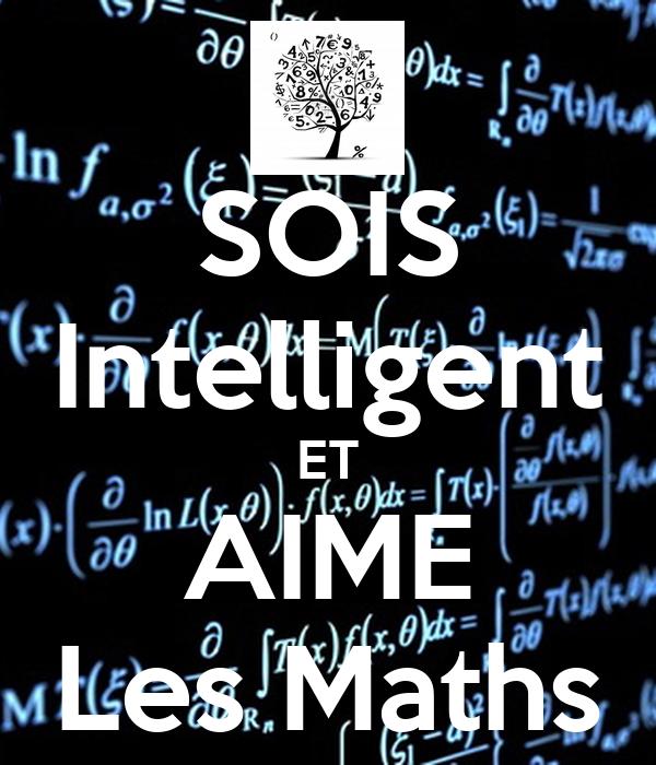 SOIS Intelligent ET AIME Les Maths