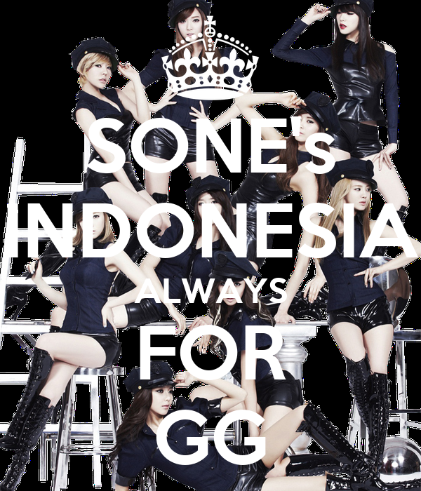 SONE's INDONESIA ALWAYS FOR GG