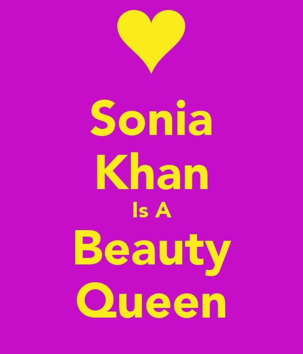 Sonia Khan Is A Beauty Queen