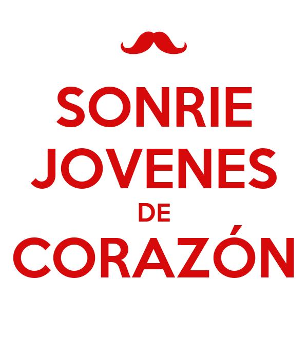 SONRIE JOVENES DE CORAZÓN