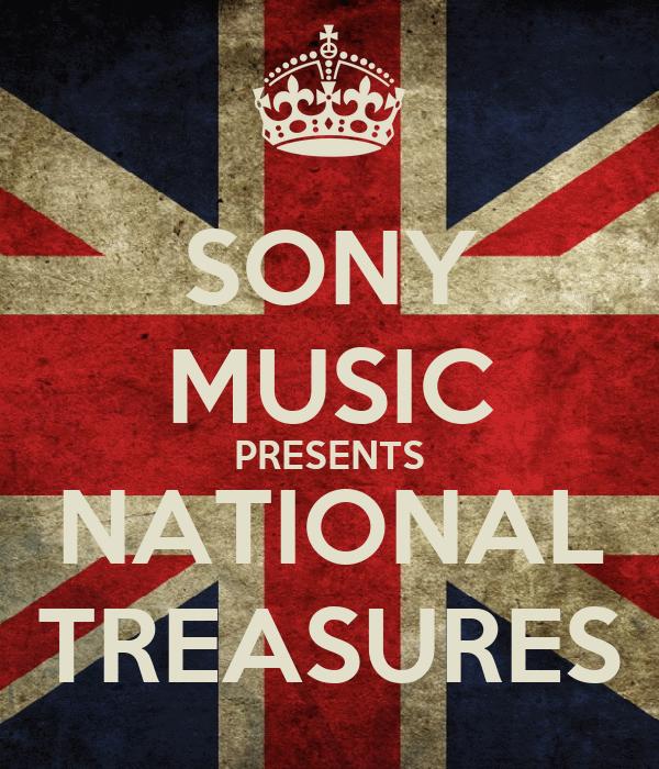 SONY MUSIC PRESENTS NATIONAL TREASURES