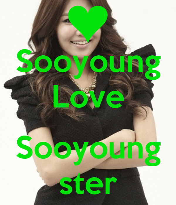 Sooyoung Love  Sooyoung ster