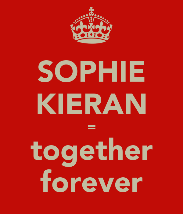 SOPHIE KIERAN = together forever