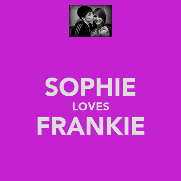 SOPHIE LOVES FRANKIE