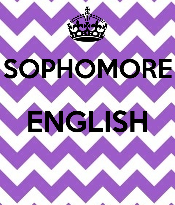 A reflection on the sophomore english course